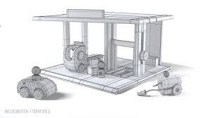 wood toy jouet 3d model