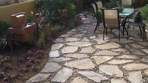 stone gravel patio ideas furniture cheap and unique home sets