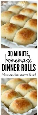 soft and fluffy one hour rolls dinner rolls dinners and rolls