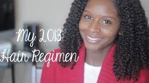 mahogany curls hair regimen my 2013 hair regimen youtube