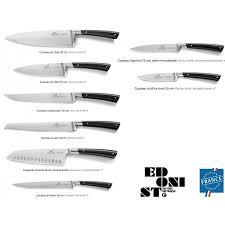 couteaux de cuisine sabatier coffret 2 couteaux edonist sabatier maison habiague