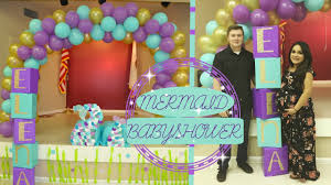 mermaid baby shower dad does babymomma dance youtube