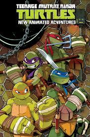 teenage mutant ninja turtles animated adventures omnibus vol