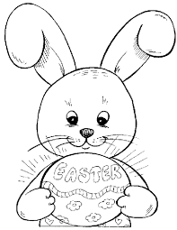 easter bunny face coloring pages glum me