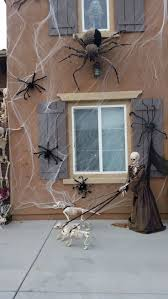 halloween skeletons decorations halloween window decorations ideas to spook up your neighbors