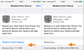icloud backup for android how to restore whatsapp backup from icloud to android iphone