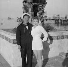 before she was marilyn norma jeane baker on catalina island