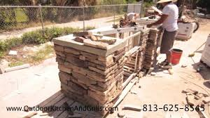 how to build a outdoor kitchen island outdoor kitchen with pizza oven cultured stone granite fire
