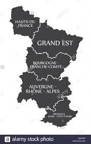 Provence Map Hauts De France Grand Est Bourgogne Auvergne Provence Map
