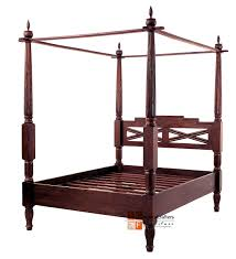 Antique Style Bed Frame Bali Antique Canopy Beds Frame Solid Teak Wood Colonial Furniture