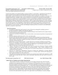 Sample Hr Executive Resume by Strategic Thinker Business Partner Human Resource Director Shrm P U2026