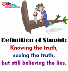 Definition Memes - fbcom pageslover definition of stupid knowing the truth seeing the