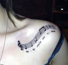 Tattoo Ideas For The Back Of Your Neck 101 Music Tattoo Designs To Ignite The Love For Music