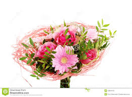 Beautiful Bouquet Of Flowers Beautiful Bouquet Of Pink Flowers Royalty Free Stock Images