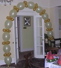 linking quick link balloon diy party engagement wedding arch white