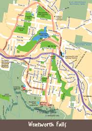 Walking Map App Maps Blue Mountains City Tourism