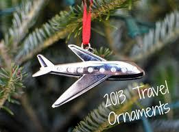 2013 travel ornaments