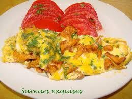 cuisiner les chanterelles grises omelette aux chanterelles saveurs exquises