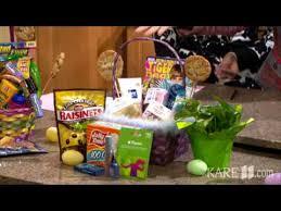 healthy easter baskets filling a healthy easter basket