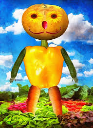 pumpkin images free download vegetable man fairy tale character