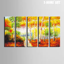 Painting Home Decor by Online Get Cheap Wood Paintings Aliexpress Com Alibaba Group