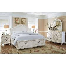 White Traditional  Piece King Bedroom Set Chateau Monaco RC - Bedroom sets at rc willey