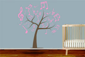 giant music symbol tree wall sticker removable kids home decor giant music symbol tree wall sticker removable kids home decor room decals