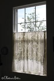 Thermal Cafe Curtains Best 25 Half Window Curtains Ideas On Pinterest Kitchen Window