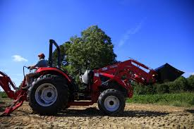 t503 compact tractor with a tx5000 front end loader attachment and