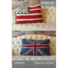 British Flag Pillow Patriotic Pillows Sewing Pattern From Indygo Junction U2013 Indygojunction