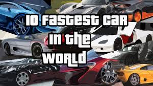 fastest car in the world hennessey venom gt 270 49 mph 435 31 km h 10 fastest car in