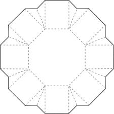 Picture Of Octagon Octagon Box Box Templates Box And Hexagon Box