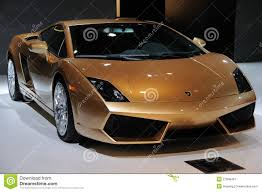 golden lamborghini italy lamborghini gallardo lp 560 4 golden editorial photo image