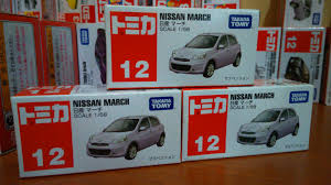 tomica nissan march diecast miniatur mobil tomica nissan march takara tomy no 12