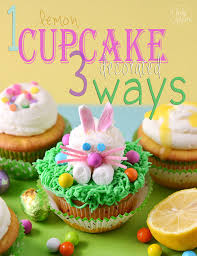 Decorated Easter Cupcakes Recipes by Bunny Lemon Filled Cupcakes With Lemon Buttercream