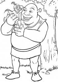 puss boots sitting shrek shoulder coloring pages batch