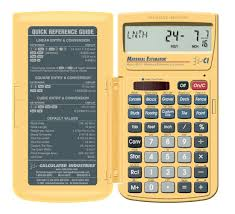 House Building Calculator Calculated Industries 4019 Materials Estimating Calculator