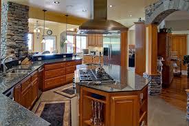 Kitchen Island Range Rustic Kitchen With U Shaped U0026 Raised Panel In Blaine Wa Zillow