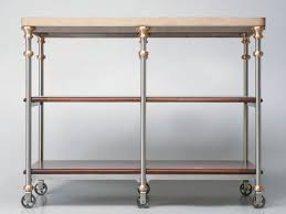 stainless steel butcher table butcher block stainless steel kitchen island now in stock old plank
