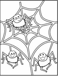 Spider Color Pages 537 Best Halloween Coloring Pages Images On Pinterest Coloring by Spider Color Pages