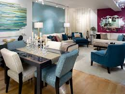 accent wall color ideas contemporary living room interior design feature bold color living