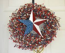 fourth of july wreaths patriotic home decor laurels by