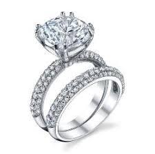 Cubic Zirconia Wedding Rings by Cz Engagement Set 0424 Khloe Kardashian Wedding Ring Cz