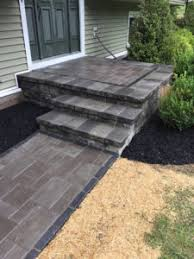 Unilock Retaining Wall Steps And Retaining Walls Bring Beauty To Your Yard Landwork