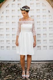 robe mari e lyon robe de mariée civile en dentelle à manches 3 4 sur mesure à lyon