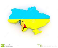 Moldova Map Map Of Ukraine And Moldova Stock Image Image 35178301