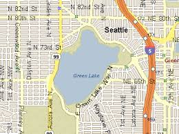 seattle map green lake our one day in seattle