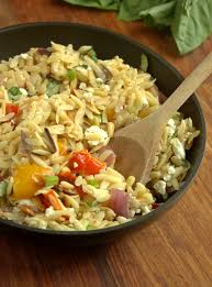 ina garten u0027s orzo with roasted vegetables i made this yesterday
