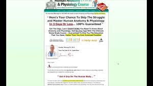 learn human anatomy u0026 physiology in 3 days or less 100