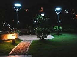 Outdoor Solar Panel Lights - garden solar powered outdoor lights u2014 all home design ideas